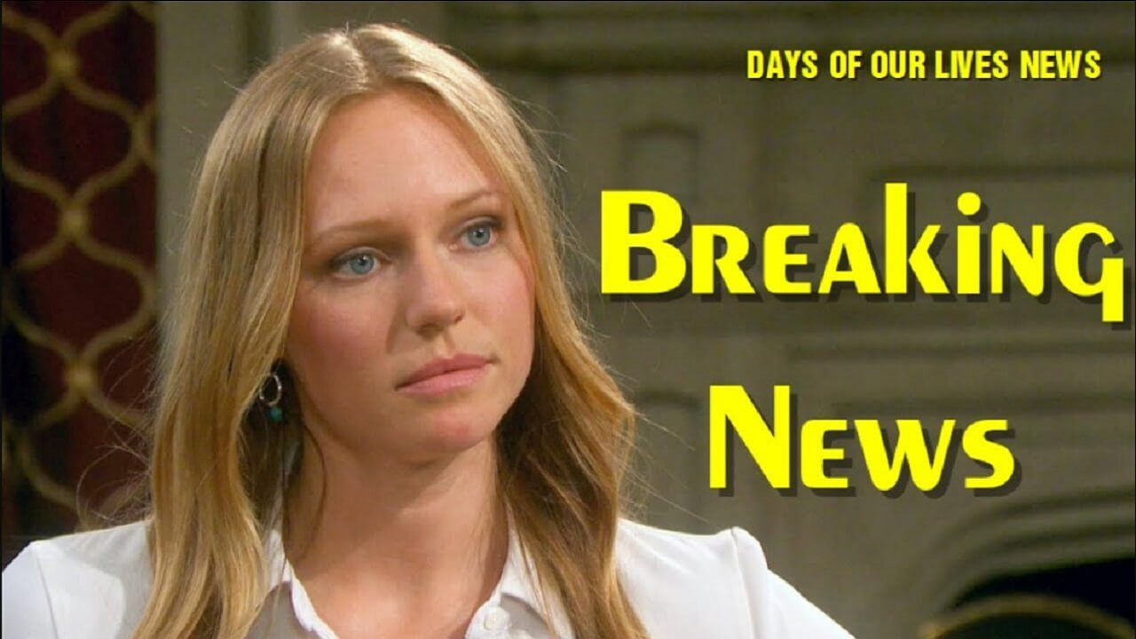 Days of Our Lives Spoilers Wednesday November 20