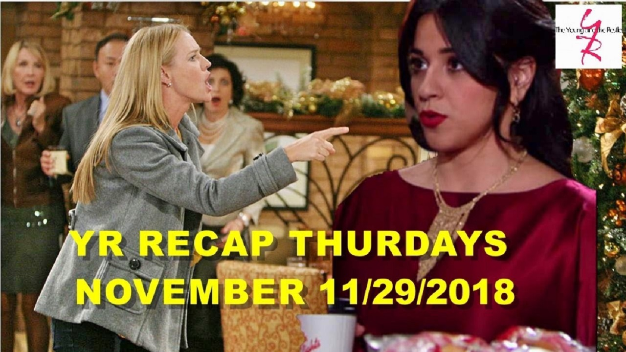 The Young and the Restless Spoilers Thursday November 29