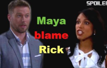 Bold and Beautiful Spoilers Rick and Maya's marriage can not be saved