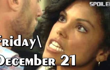 The Bold and the Beautiful Spoilers Friday December 21