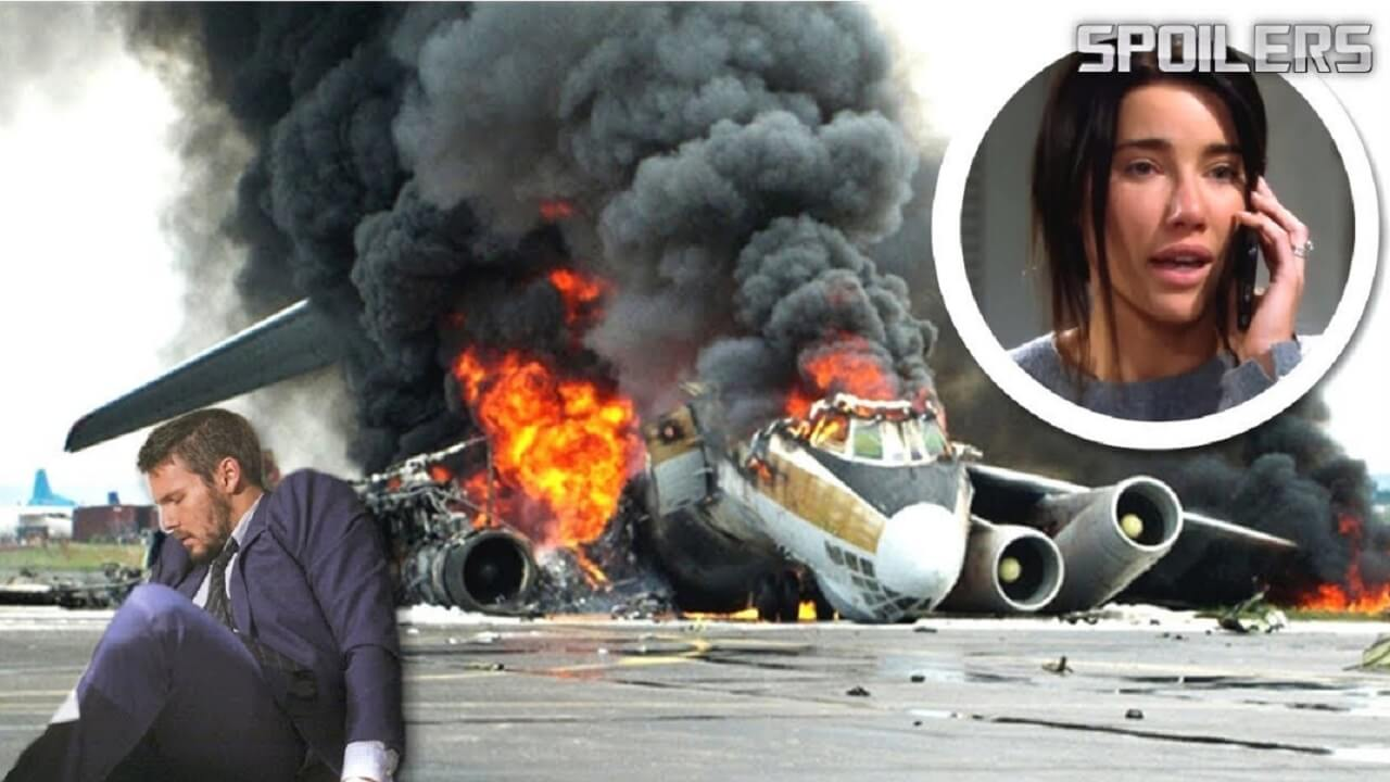 The Bold and The Beautiful Spoilers Liam's plane crashed