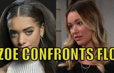 Bold and the Beautiful Spoilers : Zoe Confronts Flo, Know The Truth