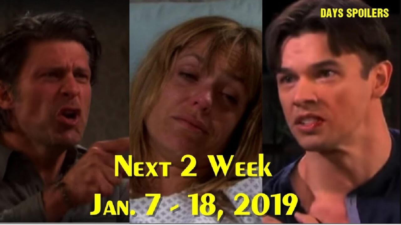Days of Our Lives Spoilers Next 2 week Jan 7 – 18, 2019