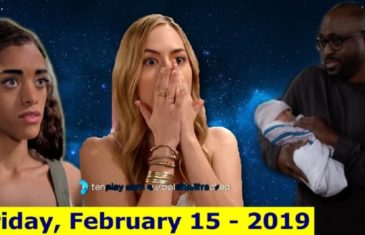 The Bold and The Beautiful Spoilers Friday, February 15th