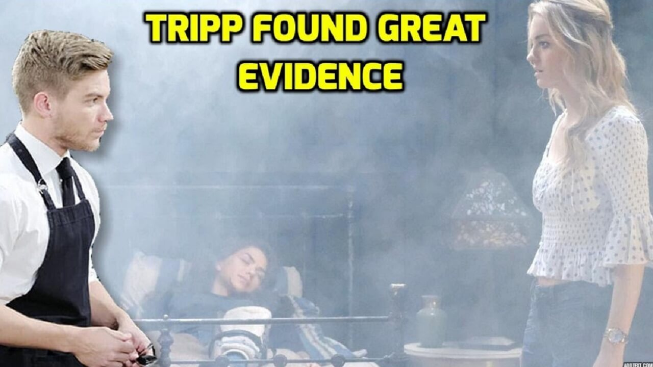 Days of Our Lives Spoilers Tripp found great evidence to accuse Claire