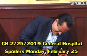General Hospital Spoilers on Monday, February 25