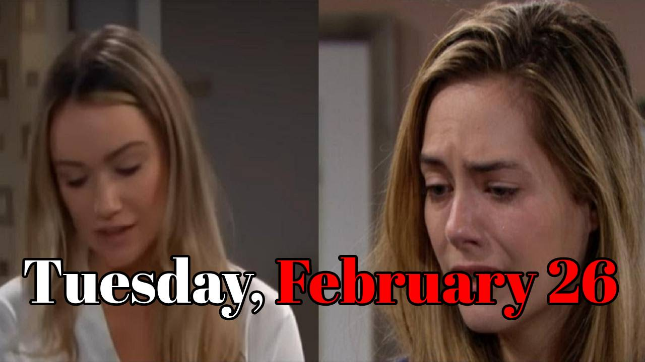 The Bold and the Beautiful Spoilers Tuesday, February 26