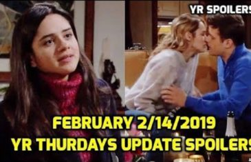 The Young and the Restless Spoilers Thursdays February 14