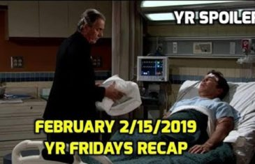 The Young and The Restless Spoilers Friday's February 15
