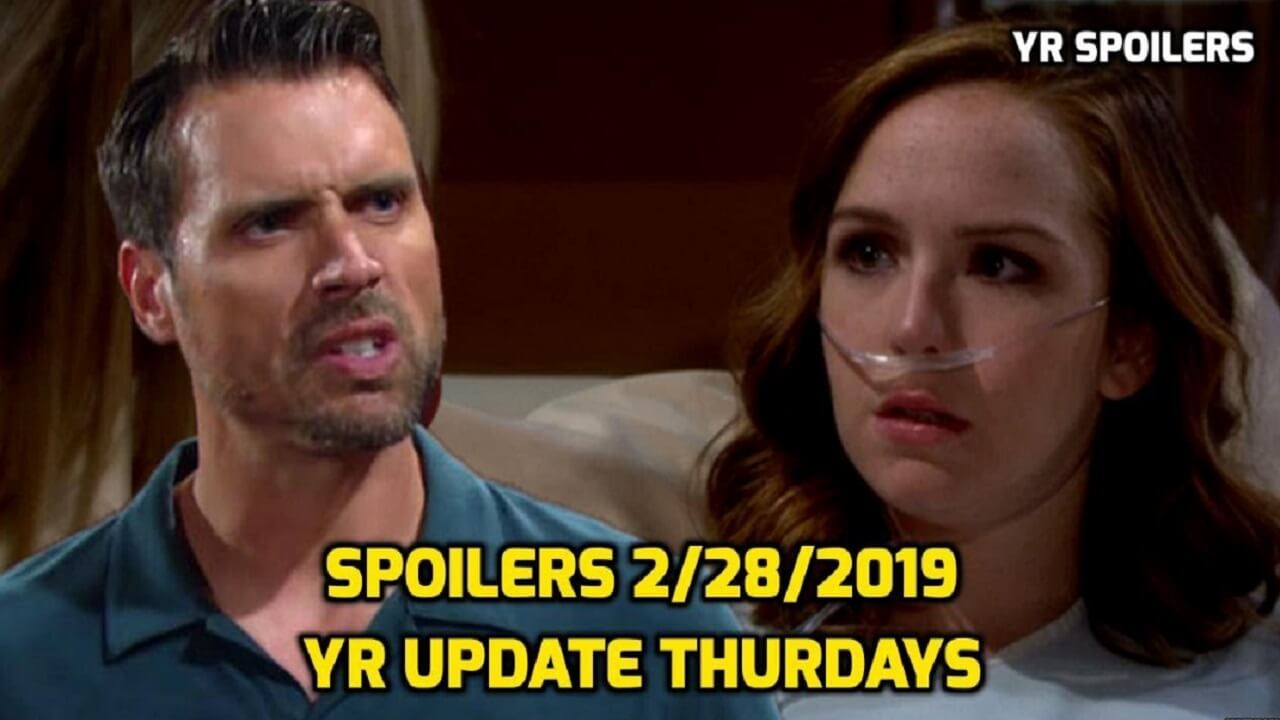 The Young and the Restless Spoilers Thursdays February 28