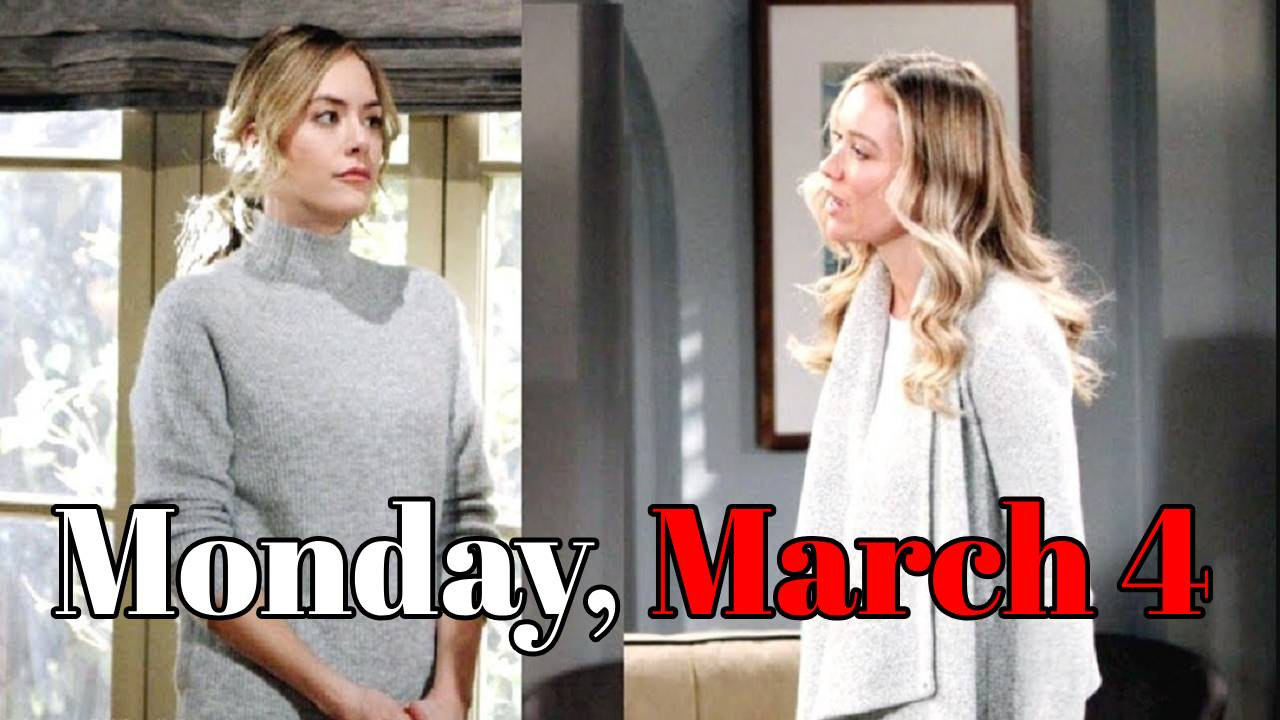 The Bold And The Beautiful Spoilers Monday, March 4