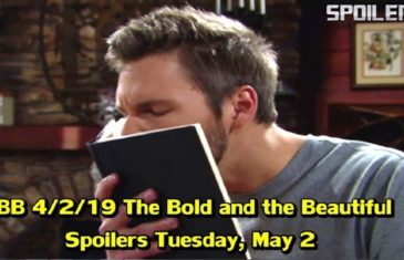 The Bold and the Beautiful Spoilers for Tuesday, April 2