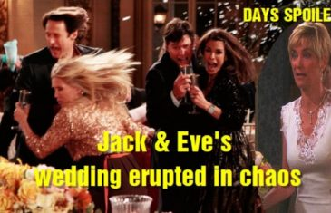 Days of Our Lives Spoilers: Jack and Eve's wedding erupted in chaos