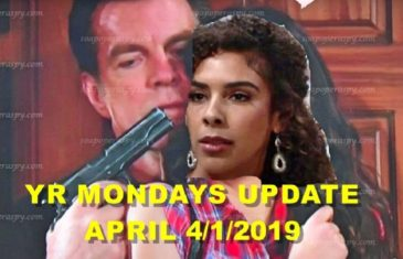 The Young and the Restless Spoilers for Monday, April 1