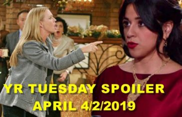 The Young and the Restless Spoilers for Tuesday, April 1