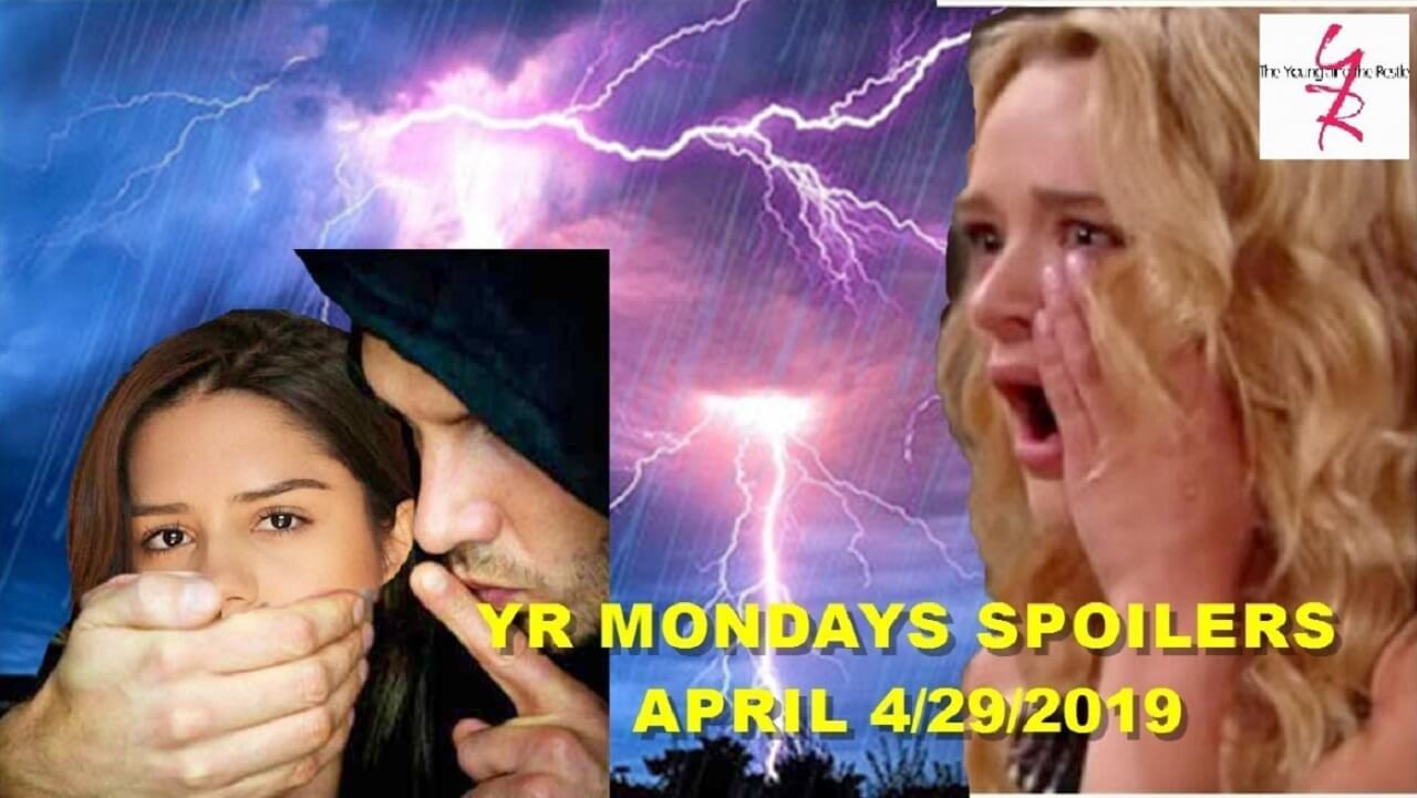 The Young and the Restless Spoilers for Monday, April 29