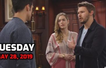 The Bold and The Beautiful Spoilers For Tuesday, May 28