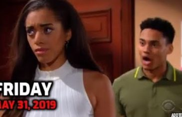 The Bold and the Beautiful Spoilers For Friday, May 31