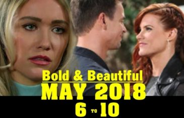 The Bold and the Beautiful Spoilers for May 6-10 Next Week