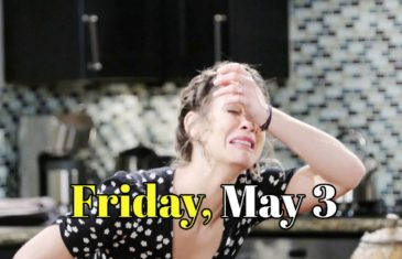 Days of our Lives Spoilers for Friday, May 3