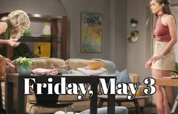 The Bold and the Beautiful Spoilers for Friday, May 3