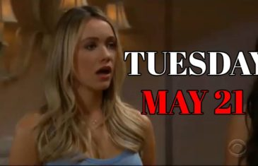 The Bold and the Beautiful Spoilers For Tuesday, May 21