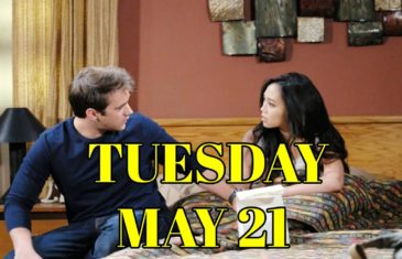 Days of Our Lives Spoilers For Tuesday, May 21 DOOL