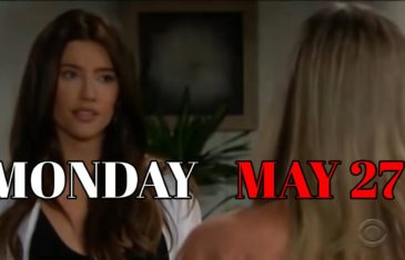 The Bold and the Beautiful Spoilers For Monday, May 27