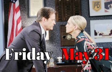Days of Our Lives Spoilers For Friday, May 31 DOOL