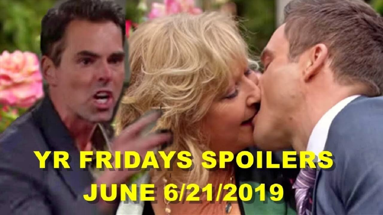 The Young and the Restless Spoilers Friday, June 21 : Adam's  Chancellor Secret