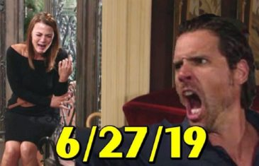 The Young and the Restless Spoilers Thursday, June 27