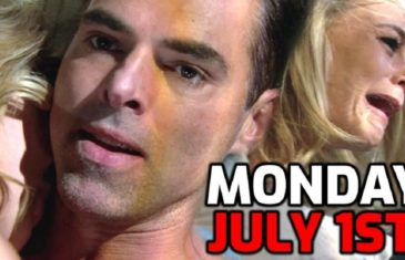 The Young and the Restless Spoilers Monday, July 1