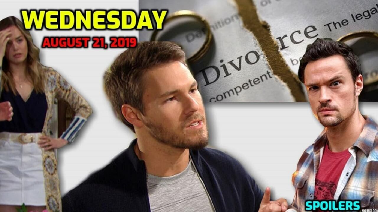 The Bold and the Beautiful Spoilers Wednesday, August 21 B&B Ubdate