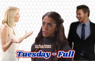 The Bold and the Beautiful Spoilers Tuesday, December 24 B&B Ubdate