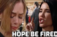 The Bold and the Beautiful Spoilers Steffy fired Hope at Forrester Creations