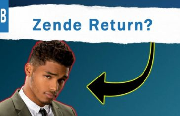 Zende may return to 'B&B' whenever or Xander may be gone for good