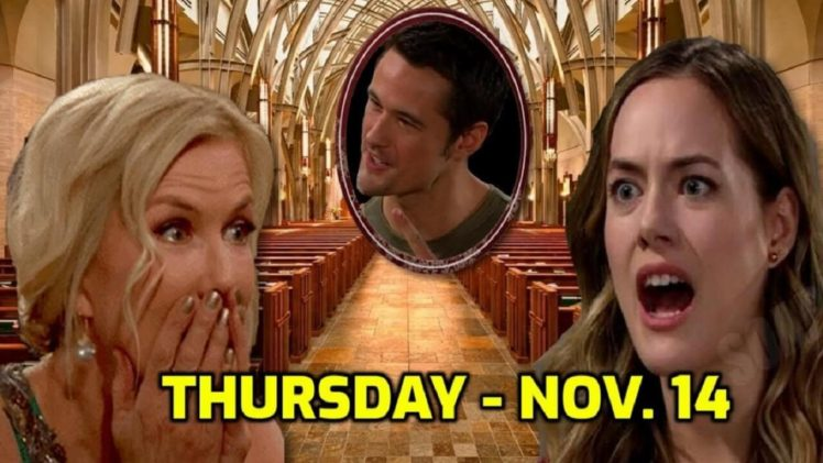 The Bold and the Beautiful Spoilers Thursday November 14 B&B Ubdate