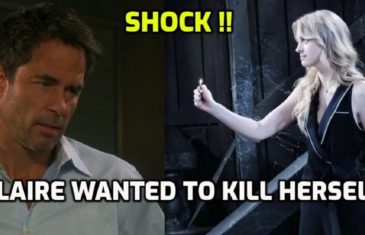 Days of our Lives Spoilers Tuesday, July 2 Claire wanted to kill herself