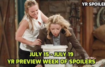 The Young and the Restless Spoilers Preview Week Of July 15 - July 19