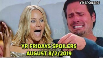 The Young and the Restless Spoilers Friday, July 12 Y&R Ubdate