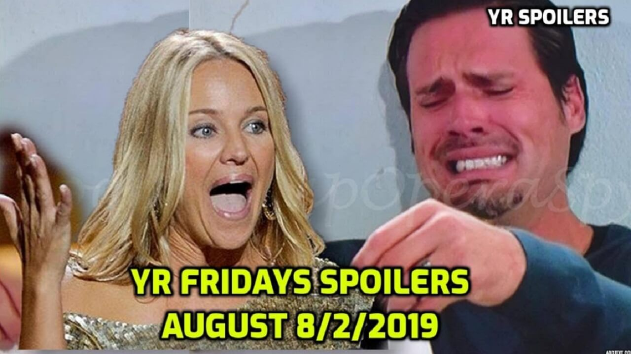 The Young and the Restless Spoilers Friday, August 2 Y&R Ubdate