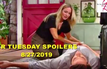 The Young And The Restless Spoilers Tuesday, August 27
