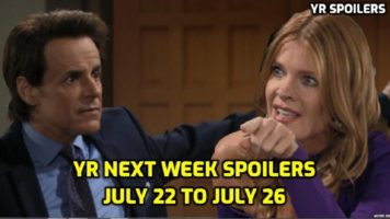 The Young and the Restless Spoilers July 22-26 Next Weeks