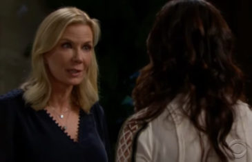 The Bold and the Beautiful Spoilers Brooke Rushes To Eric