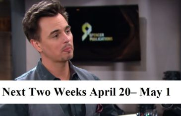 Bold and the Beautiful Spoilers Next Two Weeks April 20– May 1, 2020