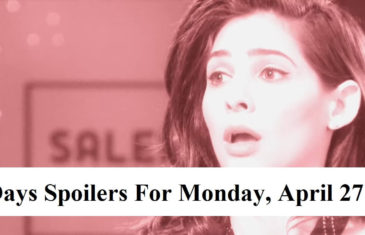 Days Of Our Lives Spoilers For Monday, April 27, 2020