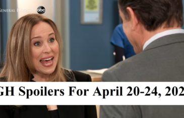 General Hospital Spoilers For April 20-24, 2020