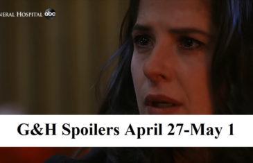 General Hospital Spoilers For April 27-May 1, 2020