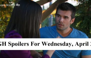 General Hospital Spoilers For Wednesday, April 22, 2020