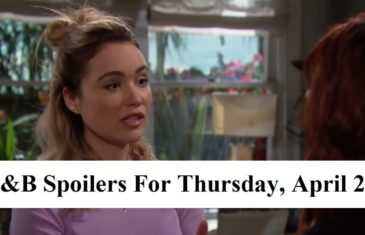 The Bold and the Beautiful Spoilers For Thursday, April 23, 2020